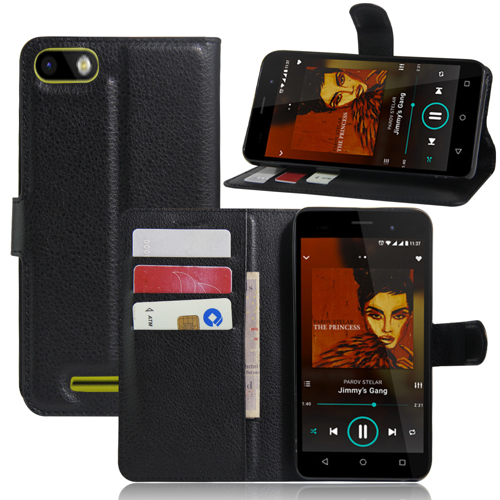 For wiko lenny 3 case cover fashion luxury filp Lychee leather wallet stand phone case cover cell phones For wiko lenny 3(China (Mainland))