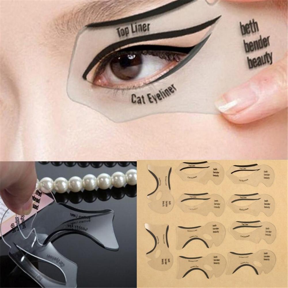Best 25 Winged eyeliner stencil ideas on Pinterest How - satukis.info