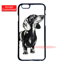 Dackel Dachshund Cover Case for LG G3 G4 iPod 5 Samsung Note 3 4 5 S3 S4 S5 Mini S6 S7 Edge Plus iPhone 4 4S 5 5S 5C 6 6S 7 Plus(China (Mainland))