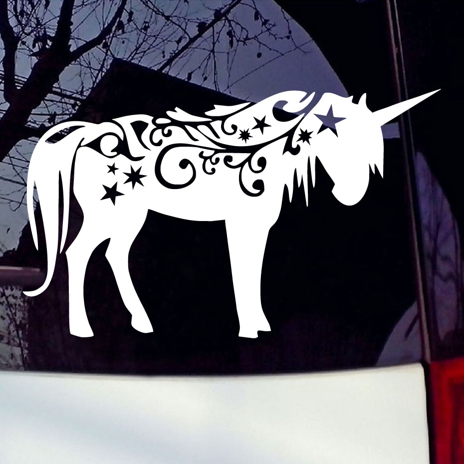 Car sticker design shop - Artistic Horse Styling Vinyl Decal Car Sticker Creative Waterproof Auto Computer Sticker Animal Design Car Styling Sticker