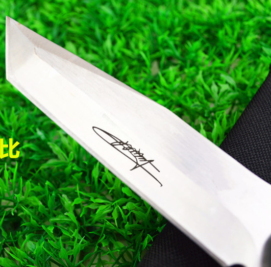 HOT Outdoor straight knives fixd blade camping knife yasmaks jungle life saving hunting knife free shipping