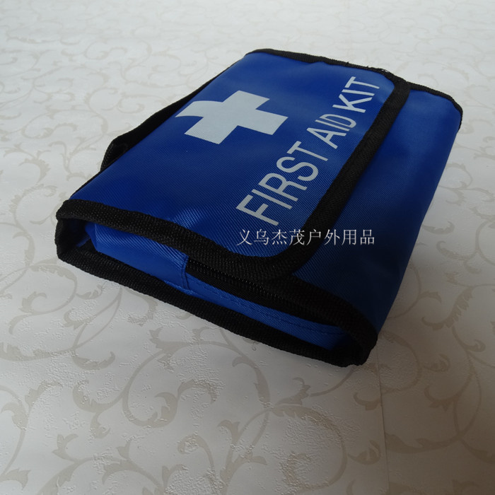 Wholesale New 18 pcs Items first aid kit Family travel emergency car first aid kit outdoor Travel Survival medical box(China (Mainland))
