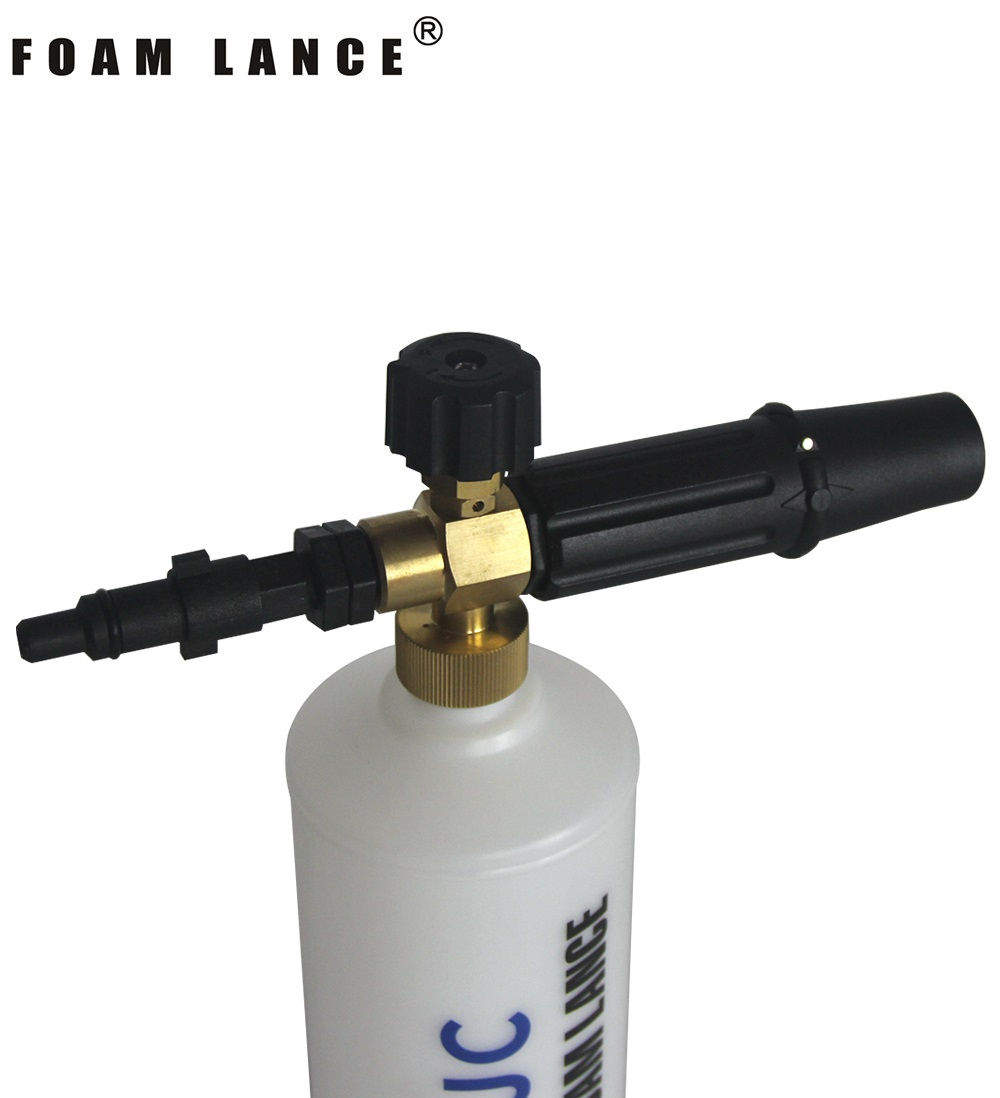 Day delivery snow foam lance nozzle for huter