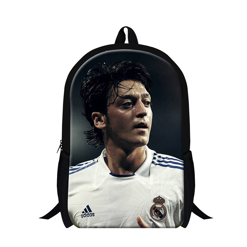 Spain football star printed backpack boys girls fashional daily bags high quality wholesale outdoor camping hiking mens mochila<br><br>Aliexpress