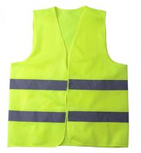 Free shipping 200pcs/lot customized logo reflective vest custom traffic vest safety security vest high visibility waistcoat (China (Mainland))