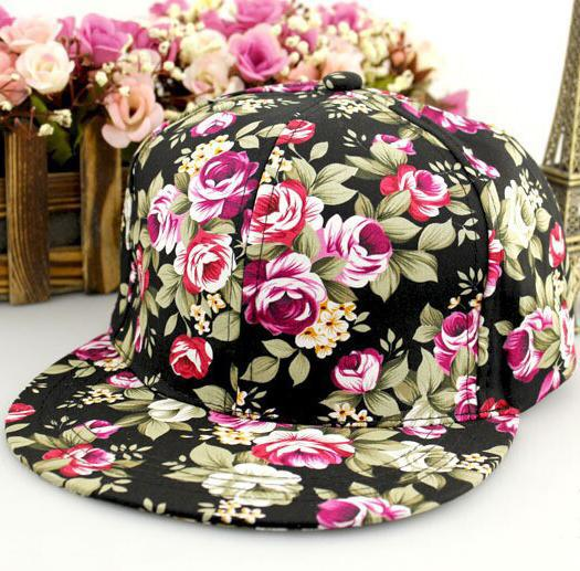 Floral Snapback Philippines New Floral Snapback Cap Men 5