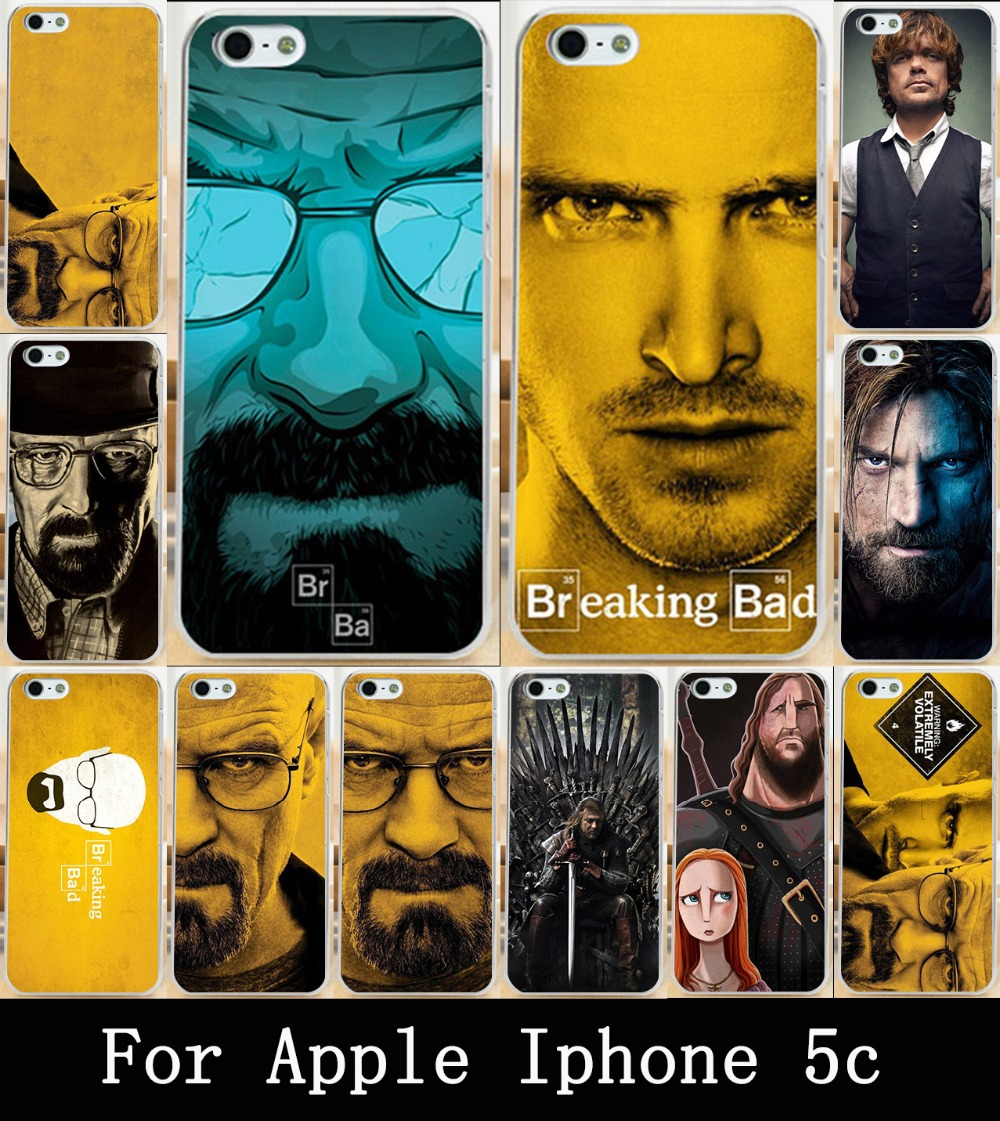 Cool TV Breaking Bad Walter White For Apple iphone 5c Case Cover Painting Skin Custom Hard Phone PC Case Cover For iphone 5c(China (Mainland))