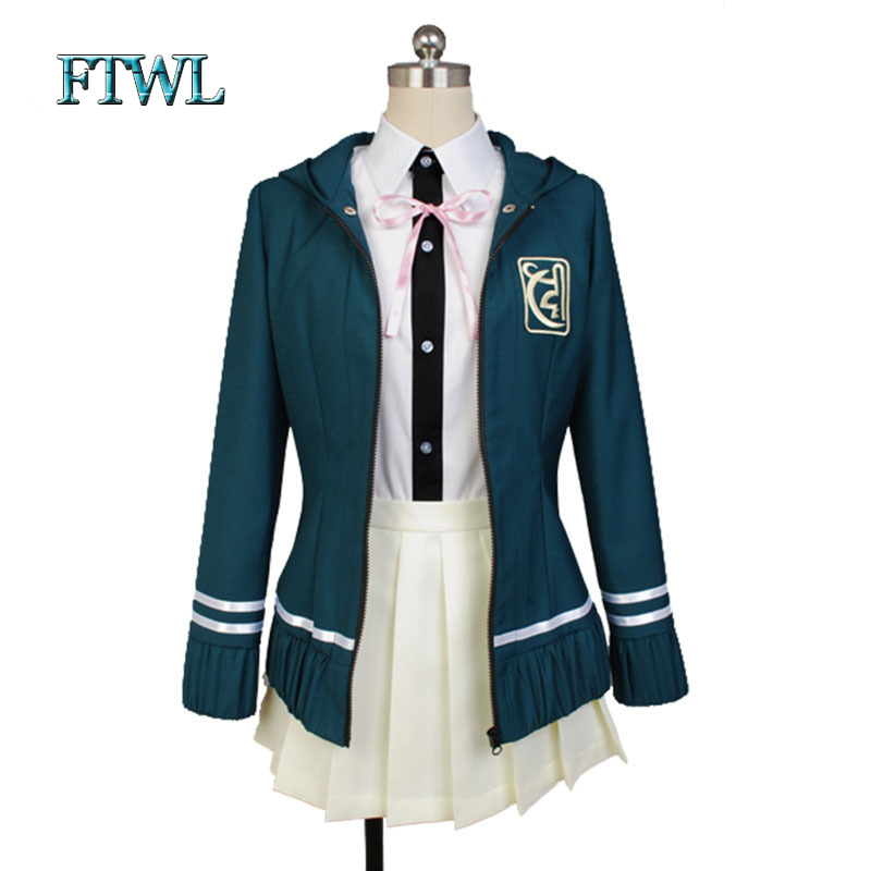 Super DanganRonpa Cosplay Chiaki Nanami Uniform Jacket Shirt Skirt Anime Halloween Costumes Women Custom Made - FTWL anime world store
