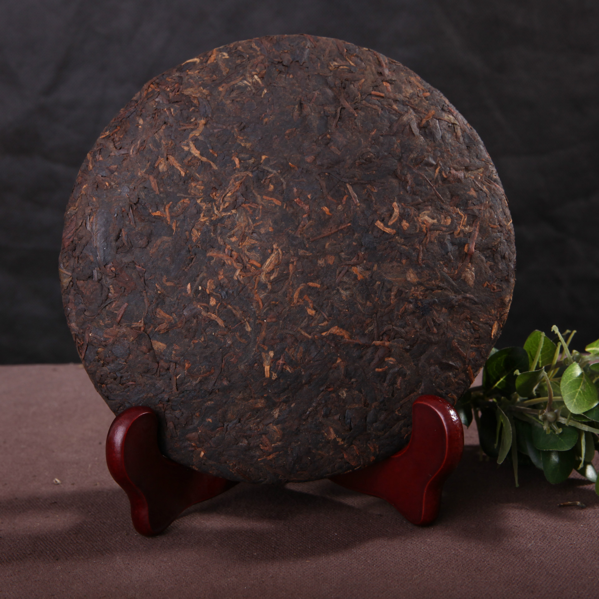 357g ripe pu er tea oldest puer tea ansestor antique honey sweet dull red Puerh tea