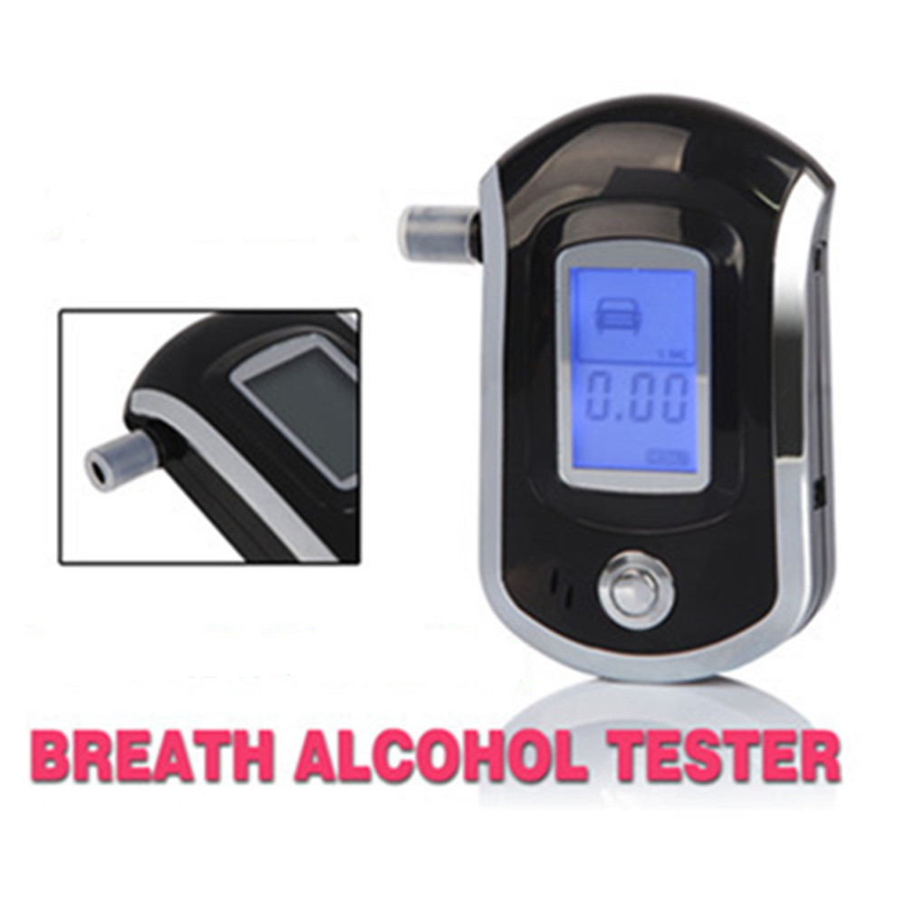 High Accuracy Prefessional Police Digital Breath Alcohol Tester Breathalyzer(China (Mainland))