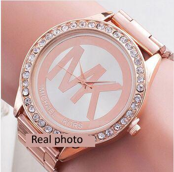 2015 Women's Watches Brand Luxury Fashion Ladies Watch women Wristwatches relojes mujer Gold Quartz Clock relogio feminino 2015(China (Mainland))