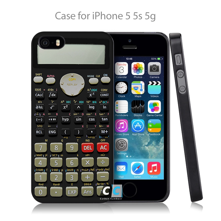 Camo Series Scientific calculator Hard Black Case Cover Shell Coque for iPhone 4 4s 4g 5 5s 5g 5c 6 6g 6 Plus(China (Mainland))