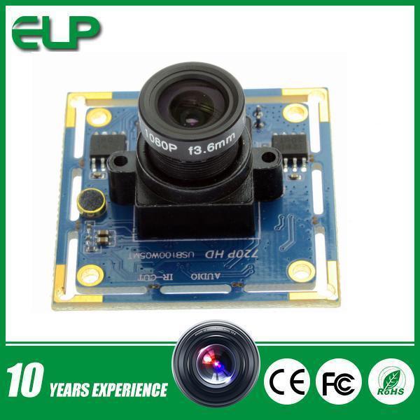 2.1mm lens 1280 x 720 MJPEG 30fps OEM micro mini usb 2.0 pc webcam camera module 720p(China (Mainland))