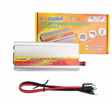 fast free shipping 2KW 2000W 2000 Watt Modified Sine Wave Power Inverter Home Car DC 12V to AC 220 Converter(China (Mainland))