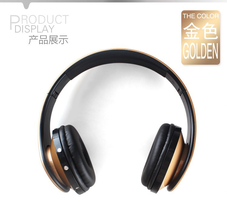 Hands Free Wireless Bluetooth Head Phones Support SD Card +FM Radio Bests Hifi Stereo Cordless Earphones Foldable Headset For iphone Mp3 (10)