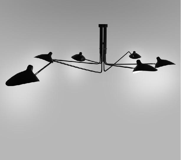 Creative Black New Modern Design Chandelier Lighting Suspension Light ...