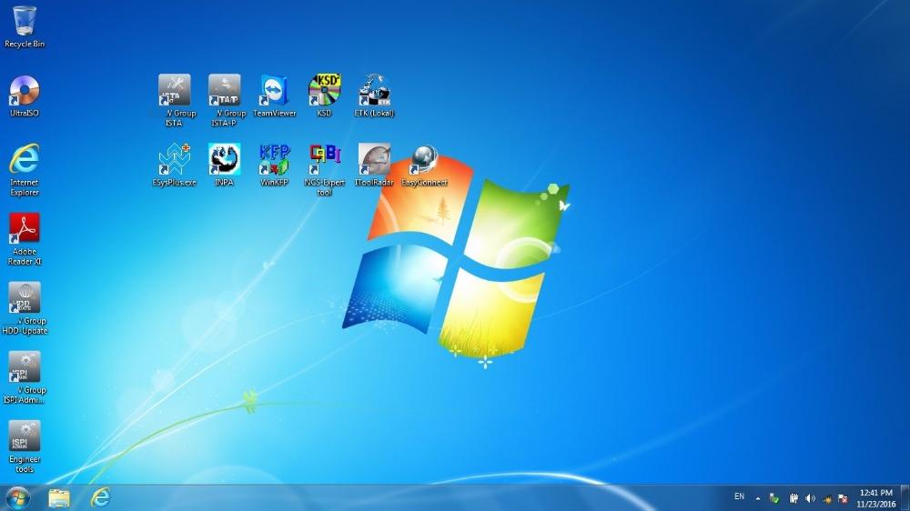 Windows 7 system