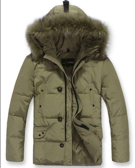 Fur Collar Men's Brand winter overcoat, Outwear, Winter jacket, 3 colors, M-XXXL, Big Size wholesale
