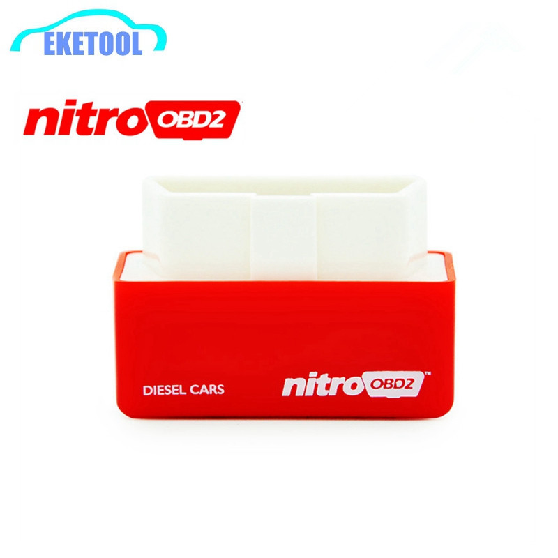 10pcs/Lot Save Fuel OBD2 Interface Diesel Cars Auto Chip Tuning Nitro OBD2 Your Own Driver NITROOBD2 Red Free Shipping(China (Mainland))