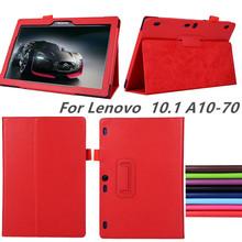 Buy New lenovo Tab2 a10-70 A10-70F/L A10 70 smart Flip leather case cover lenovo tab 2 A10-70L tablet 10.1''tablet case for $5.97 in AliExpress store