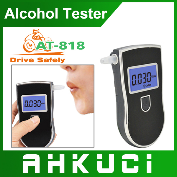 2014 new patent portable digital mini breath alcohol tester wholesales a breathalyzer test with 10 mouthpiece FREE SHIPPING(China (Mainland))