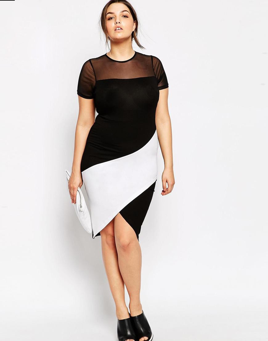 Slimming Dresses For Plus Size Women Cocktail Dresses 2016