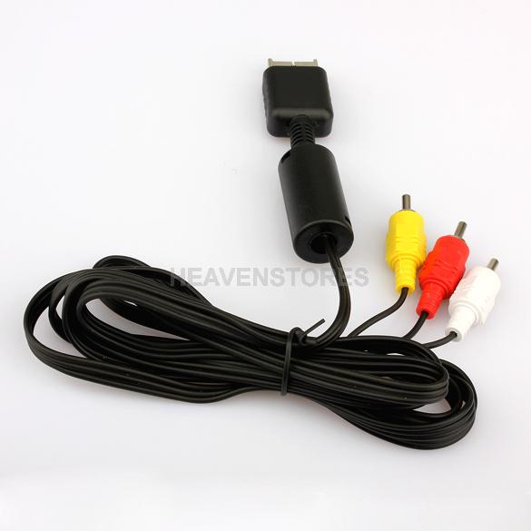 For Sony PlayStation PS2 PS3 Console System AV Audio Video Cable Cord New hv3n(China (Mainland))