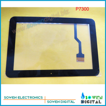 for Samsung GALAXY Tab P7300 touch screen digitizer touch panel,Black,Original new,Free shipping