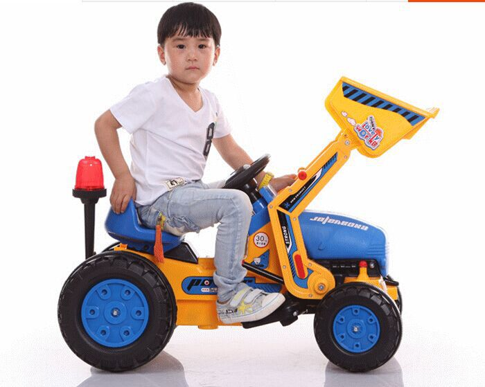 Kids toys Children Boys Large Toy electric excavator bulldozers hook machine foot excavation car toy(China (Mainland))
