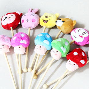 Cartoon animal plush massage stick back massage stick health care knock back stick toy