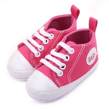 Infant Newborn Baby Boy Girl Kid Soft Sole Shoes Sneaker Newborn 0-12 Months(China (Mainland))