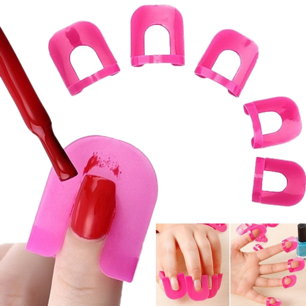 Wholesale Nail Art Extension Sticker Template Clip Guide Form ...