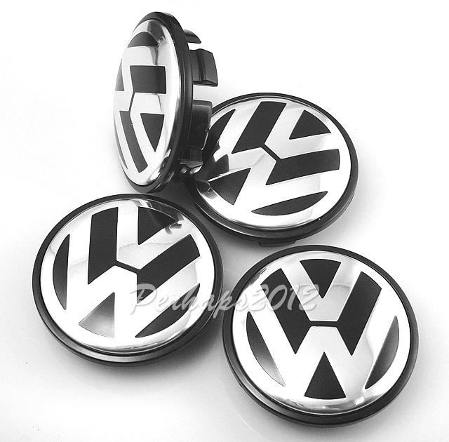 4 peces Volkswagen VW центра колеса концентратор 65 мм Cap крышка эмблема значок 3B7 601 171 VW гольф JETTA MK5 PASSAT B6 CC GTI 3B7601171