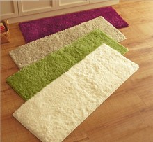 40X120CM Plush Carpet Absorbent Slip Living Room Bathroom Kitchen Bedroom Rug Door Mat Floor Hallway Coffee Table Carpet(China (Mainland))