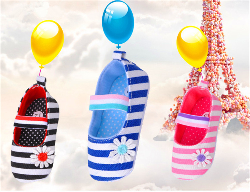 2015 Vestidos Canvas Flowers Summer Autumn Baby Girls Prewalker New Born Toddlers Trainer Shoes Girls Walking Shoes Chaussure(China (Mainland))