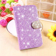 Buy Stand Flip Wallet Phone Cases Covers Sony Xperia M Housing C1904 C2005 C1905 C2004 Bag Bling Diamond Holster Magnetic Shell for $2.93 in AliExpress store