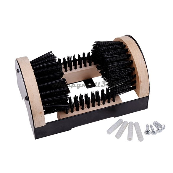 Practical Boots Shoes Sneakers Floor Mounted Mud Dirt Brush Cleaner House Doorway Home Scrub 25(China (Mainland))