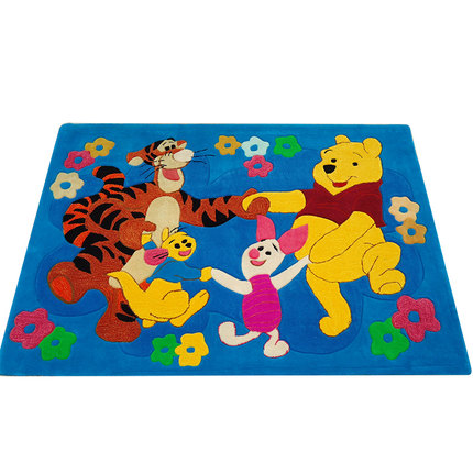 2016 new pure handmade Thick acrylic carpet rugs and carpets for home living room brand cute cartoon tapetes kids room carpet(China (Mainland))