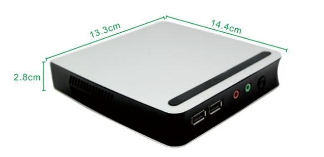 USB3.0,RTC Wake up,Wake On LAN,Auto Power On, Intel J1900 Mini HTPC Barebone 144*133*28mm Dual-core Without RAM & storage(China (Mainland))