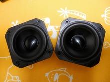 pair( 2 pcs)  peerless  HIEND   3inch  fullrange speaker  free ship  desk audio