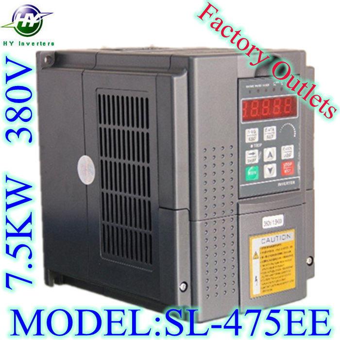 HUANYANG SL series VFD inverter 7.5KW motor 380V 17A Vector Control spindle inverter variable frequency dirve Factory Outlets(China (Mainland))
