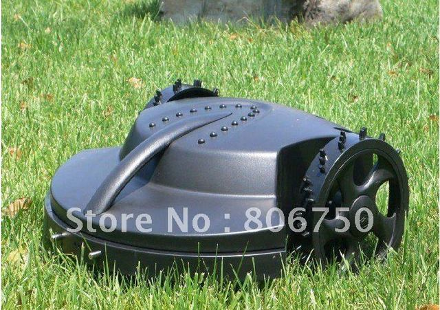 Free Shipping 100m Virtual Wire Standard Length,Robot Auto Grass Cutter with Lead-acid Battery,Auto Recharge, Robot Grass Cutter