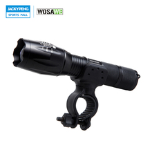 Buy WOSAWE Waterproof Front Torch Bicycle Cycling Flashlight T6 LED Bike Light 1000 Lumens 5 Mode Torch Holder Support 18650 Battery for $6.44 in AliExpress store