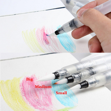 Water Piston Writing Watercolor Brush Traditional Chinese Japanese Calligraphy Drawing Pen Beginner 12cm