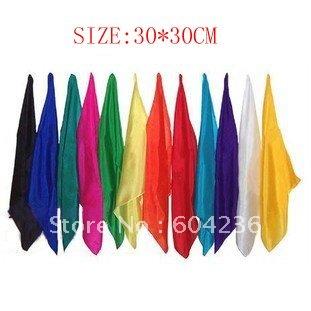 Learning & education Magic silk Magic Trick 5pcs/lot 30cm for magic prop wholesale(China (Mainland))