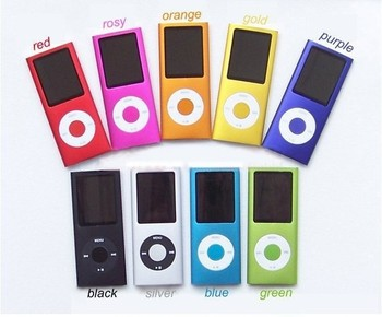 """HOT!!! New 8GB 1.8"""" LCD 4th MP3 Player with FM Radio Suport video 9 colors Free Shipping"""