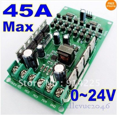 Board Fashion Picture More Detailed Picture About 0 24v 45a High Current Stepper Dual Dc
