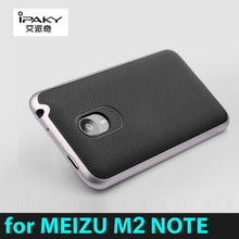 Pre-sale High quality 100% original ipaky brand Meizu M2 Note 5.5 inch case silicone protective cover free shipping