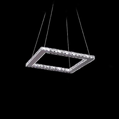 Здесь можно купить  30CM Ctystal Modern LED Pendant Light Lamp Chic Stainless Steel Plating, Luminaire Lamparas Lustres De Cristal Sala Teto  Свет и освещение