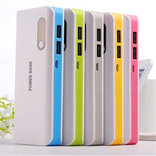 Hot Sale 16800mah double usb power bank Universal Mobile Power battery Charger For Smart Phones Tablet PCs